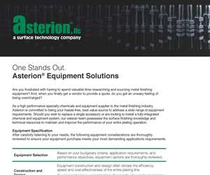 """Asterion Equipment Capabilities Guide"""