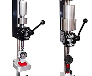 Paul N. Gardner 7000A and 7000D durometer operating stands
