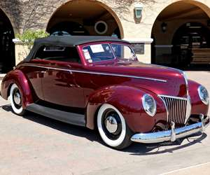 "1940 Ford Convertible, ""Lucille,"""