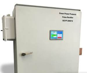 A Brite Green Power Products rectifier