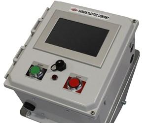 Darrah Electric touchscreen rectifier remote control