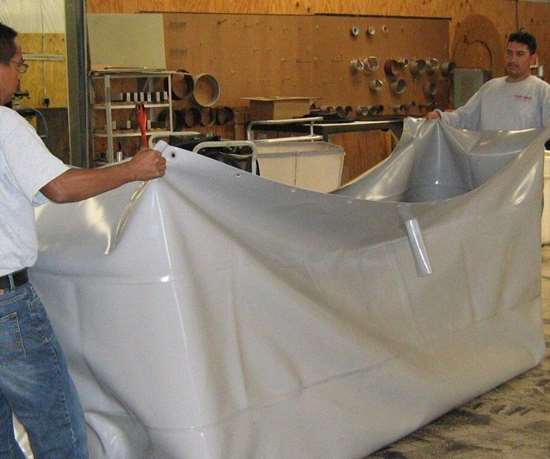 Fab-Seal industrial PVC liners