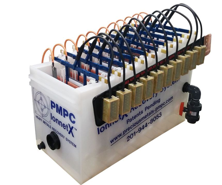 PMPC IonnetX electrolytic recover system