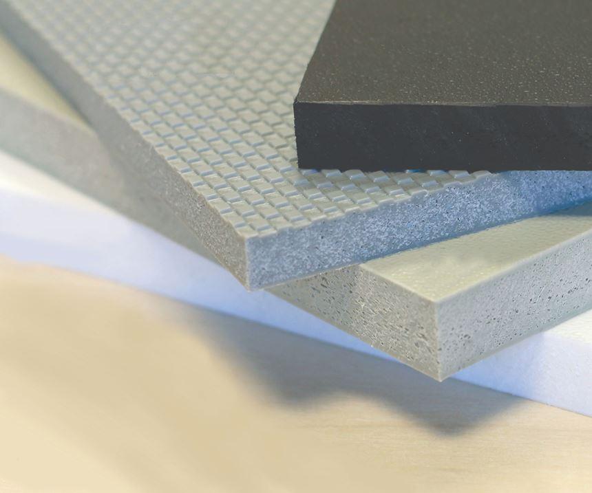 Röchling Foamlite P foamed polypropylene material