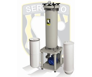 Serfilco HM pleated filtration system