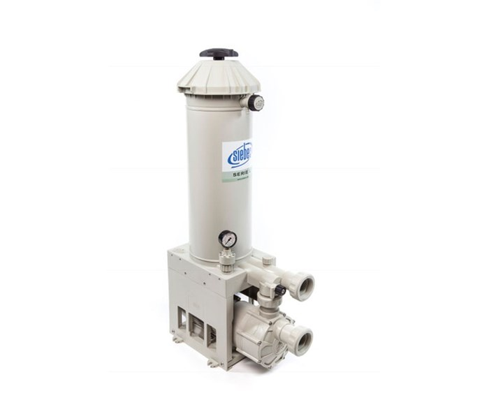 Specialty Plastics Siebec filter, pump, agitation systems