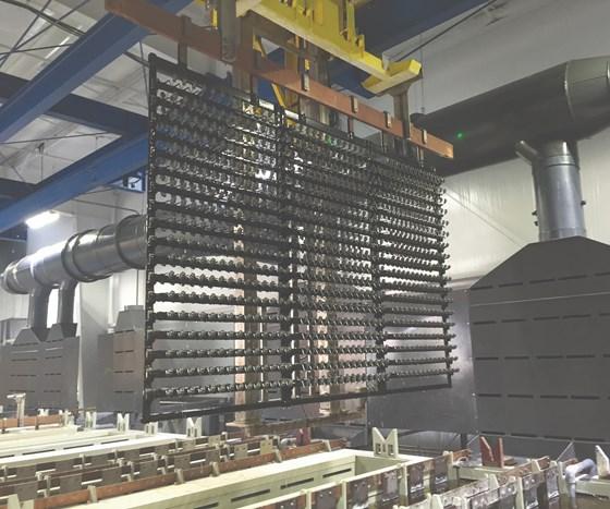 KC Jones Plating rack