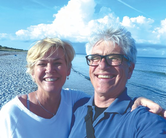 Dr. Jude Mary Runge and husband