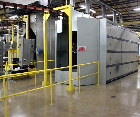 gas catalytic pre-gel ove