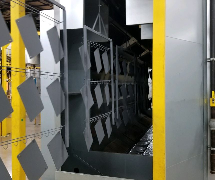 gas catalytic pre-gel oven