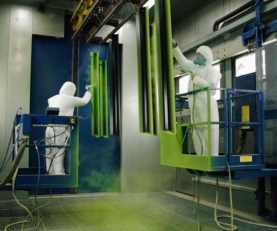 people powder coating
