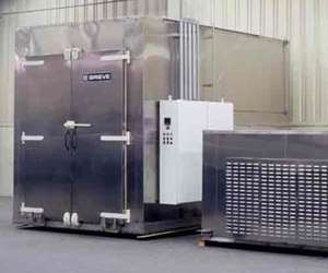 Grieve No. 946 electrically heated vertical airflow walk-in oven