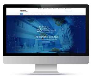 MicroCare Critical Cleaning Lab webpage