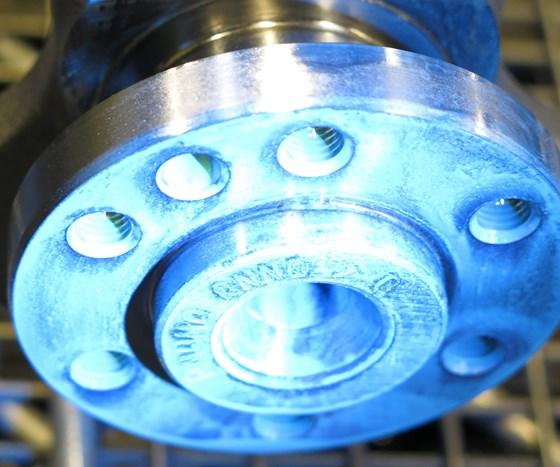 corrosion on non-ferrous metal