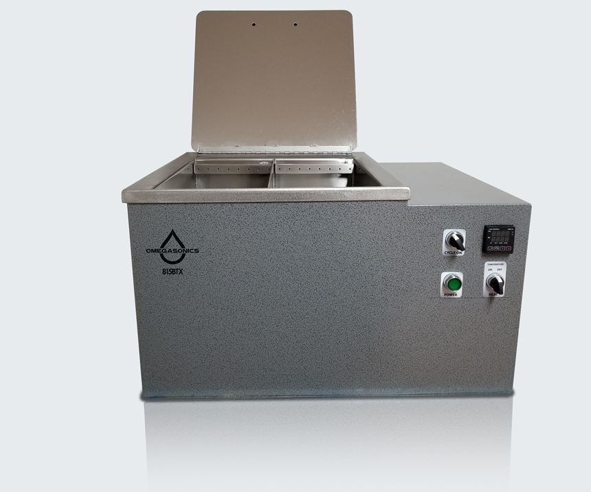 Omegasonics 815BTX ultrasonic cleaner