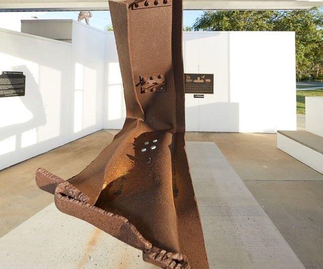 911 memorial steel beam