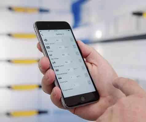 Gema OptiStar 4.0 gun control and E-App