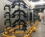 Richards-Wilcox Mono-Cart power and free conveyor