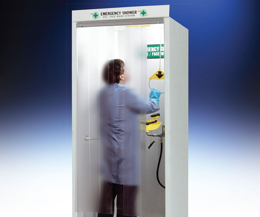 Hemco Emergency Shower Booth