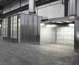 Global Finishing Solutions dry filter paint booth