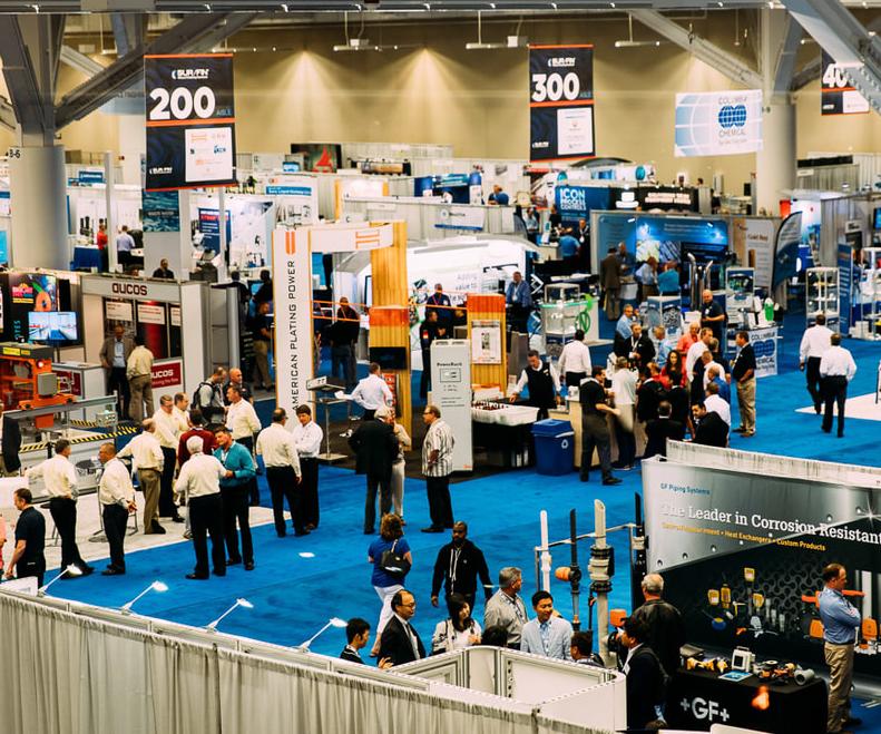 tradeshow floor
