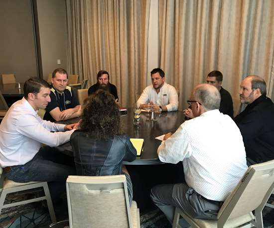 Roundtable discussion at PCI Custom Coater Forum