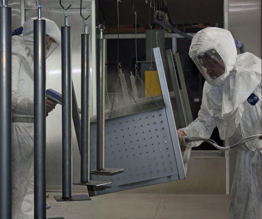 men powder coating