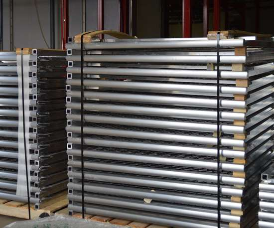 aluminum parts to be coated