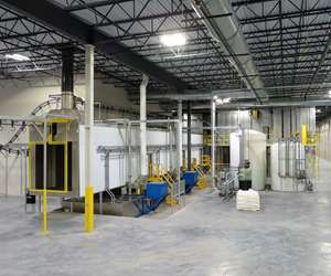 Midwest Finishing Systems custom-engineered finishing system
