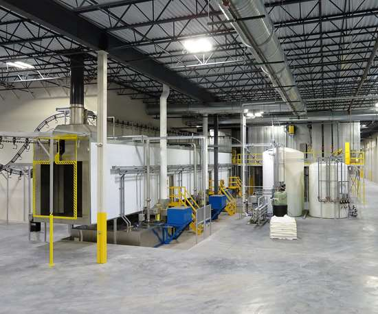 Midwest Finishing Systems custom-engineered finishing system