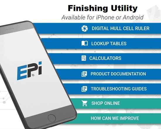 screen shot of phone app