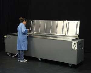 Omegasonics customizable ultrasonic cleaning machine