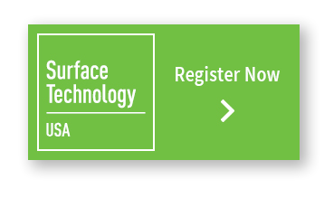 Surface Technology USA co-located at IMTS 2018, register now.