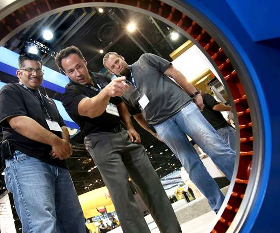 At SurfaceTechnology USA, attendees get to see the finish for themselves.