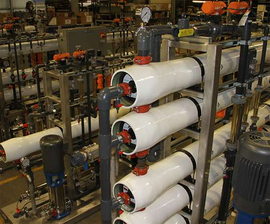 Compared to other industrial methods of filtration such as nanofiltrationor ultrafiltration, reverse osmosis can effectively remove contaminants as small as 0.0001 microns, including salts, ions and other materials.