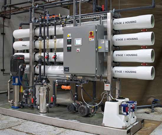 Reverse Osmosis System for Industrial Surface Finishing