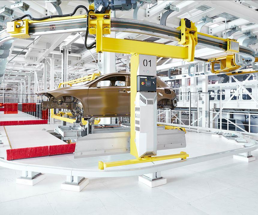 cars on conveyors