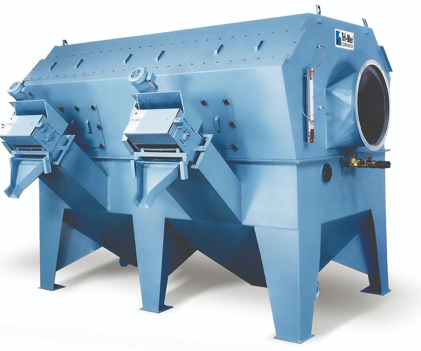 dust collecting machine