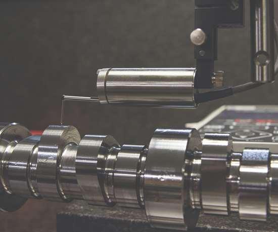 machine measuring parts