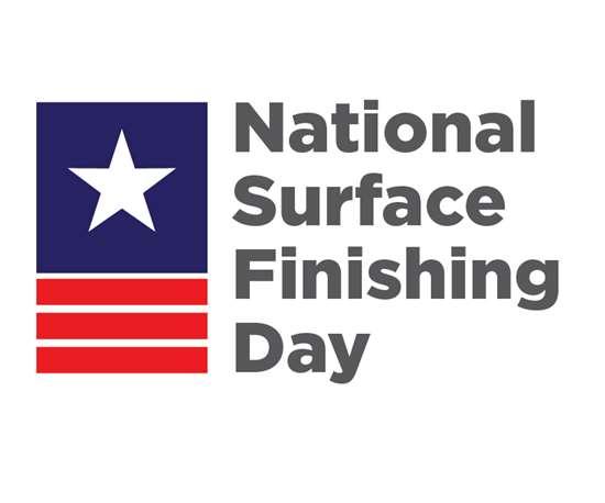 logo of national surface finishing day