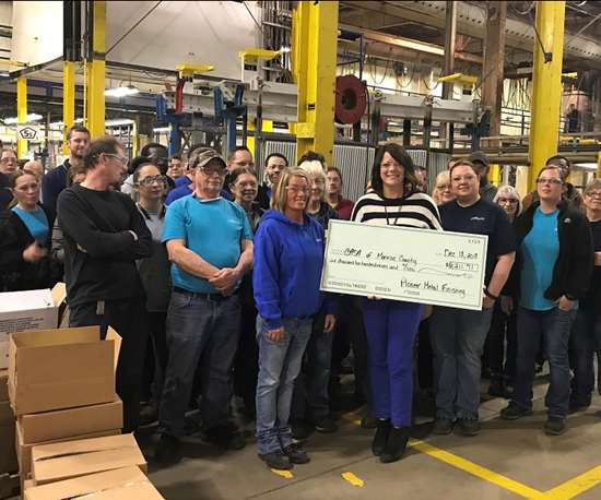 Pioneer Metal Finishing Employees Give Back To Communities Products