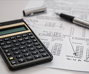 calculator and spread sheet