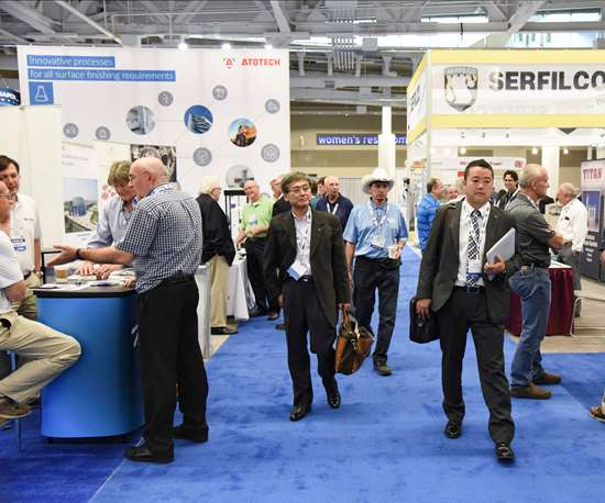 conference show floor
