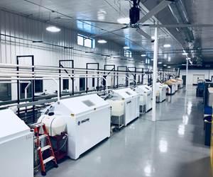 inside testing facility