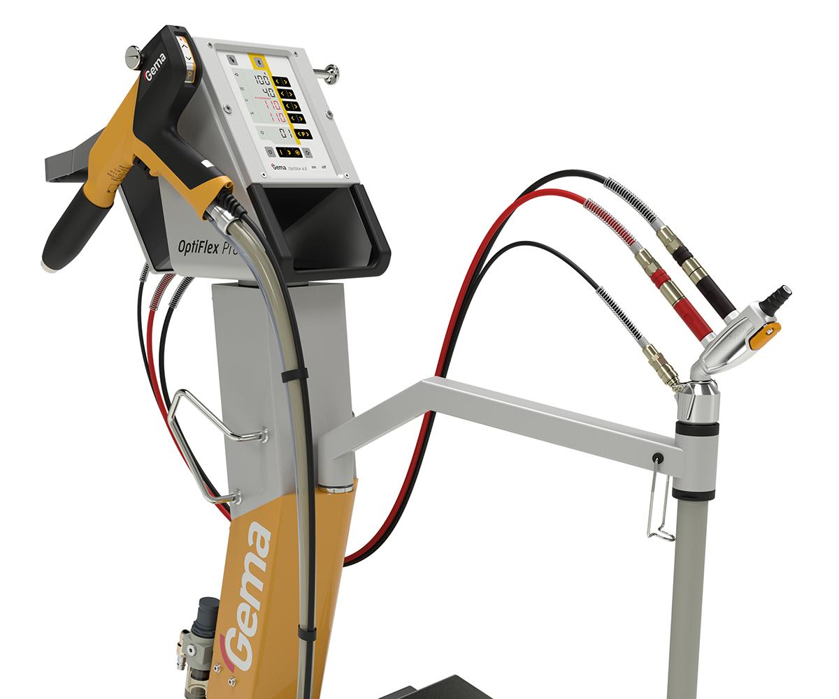 OptiFlex Pro manual spray unit