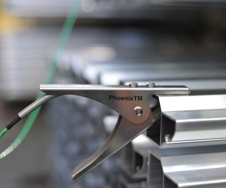 Phoenix Temperature Measurement's temperature profiling system.