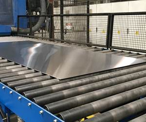 Increasing Output for Large Stainless Steel Sheet Surface Polishing