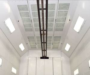 Col-Met Makes LED Lighting Standard in Spray Booths