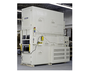 Grieve 300° Vertical Conveyor Oven Cures Electronic Parts