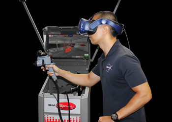 SimSpray 3.0 is designed to provide lower cost, faster, safer and more efficient training.
